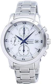 Seiko Premier Chronograph Quartz SNDV71 SNDV71P1 SNDV71P Womens Watch