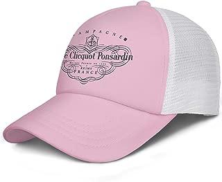DoorSignHHH Unisex Golf Cap Champagne-Veuve-Clicquot-Ponsardin-Reims-Fance- Designer Breathable Hats