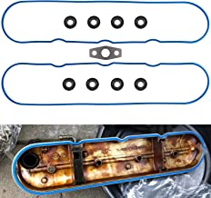 Valve Cover Gasket Set with Graphite Gasket Grommets VS50504R1 VS50250A for 1999-2016 GM/Isuzu/Saab 4.8L, 5.3L, 5.7L, 6.0L, 6.2L, 7.0L V8