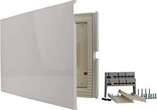 Caja de distribuci/ón Hight IP65 18 M/ódulo TRANSPARENTE Puerta 940.18 M-L 4854