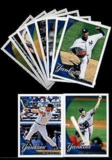 2010 Topps Baseball Cards Complete TEAM SET: New York Yankees (Series 1 & 2) 21 Cards Including Mickey Mantle, Derek Jeter, Alex Rodriguez, Babe Ruth/ Lou Gehrig, Hideki Matsui, Andy Pettitte, Mark Teixeira, CC Sabathia & More!