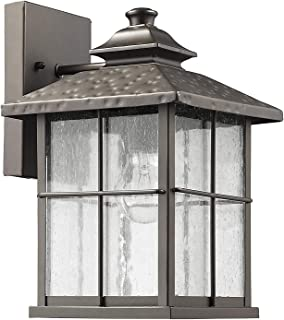 Chloe Lighting CH822045RB12-OD1 Transitional 1 Light Rubbed Bronze Outdoor Wall Sconce 12