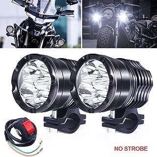 Biqing 2 SZT Motocykl światła Przeciwmgielne 1 Tryb,Uniwersalny 40W Reflektor Motocyklowy 12V 24V Motocykl LED Reflektor R...