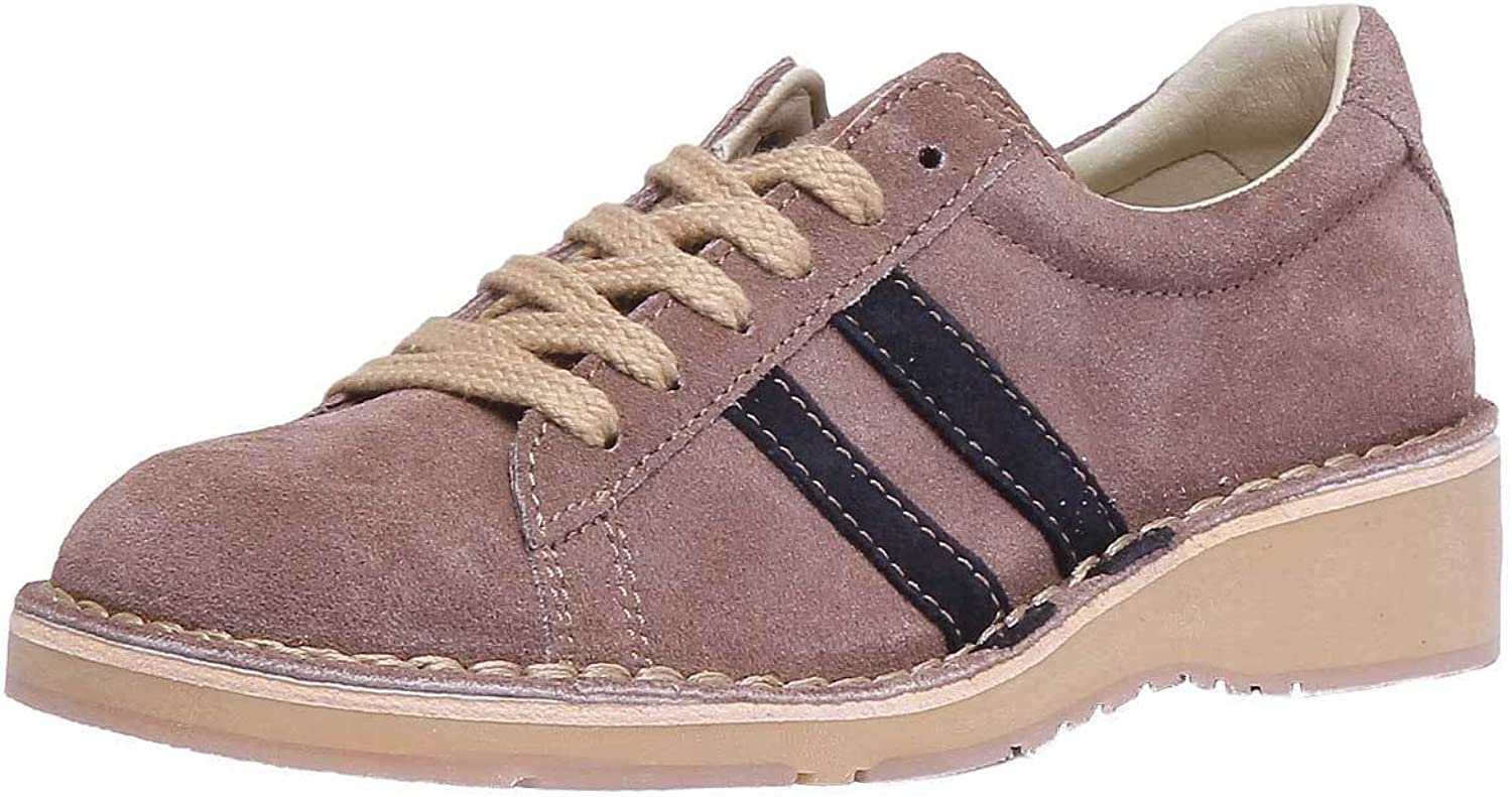 Fly London Camm964 Womens Taupe Suede Leather Sho