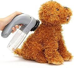 Demana Pet Hair Fur Remover Soft Rubber Non-toxic Dog Cat Grooming Brush Comb Portable Massage Electric Pet Sucker Vacuum Cleaner