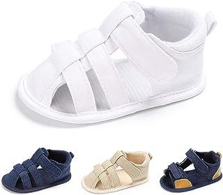 cd4b555b59ffa8 Infant Baby Boys Girls Summer Sandals Soft Sole Anti-Slip Toddler First  Walkers Newborn Crib