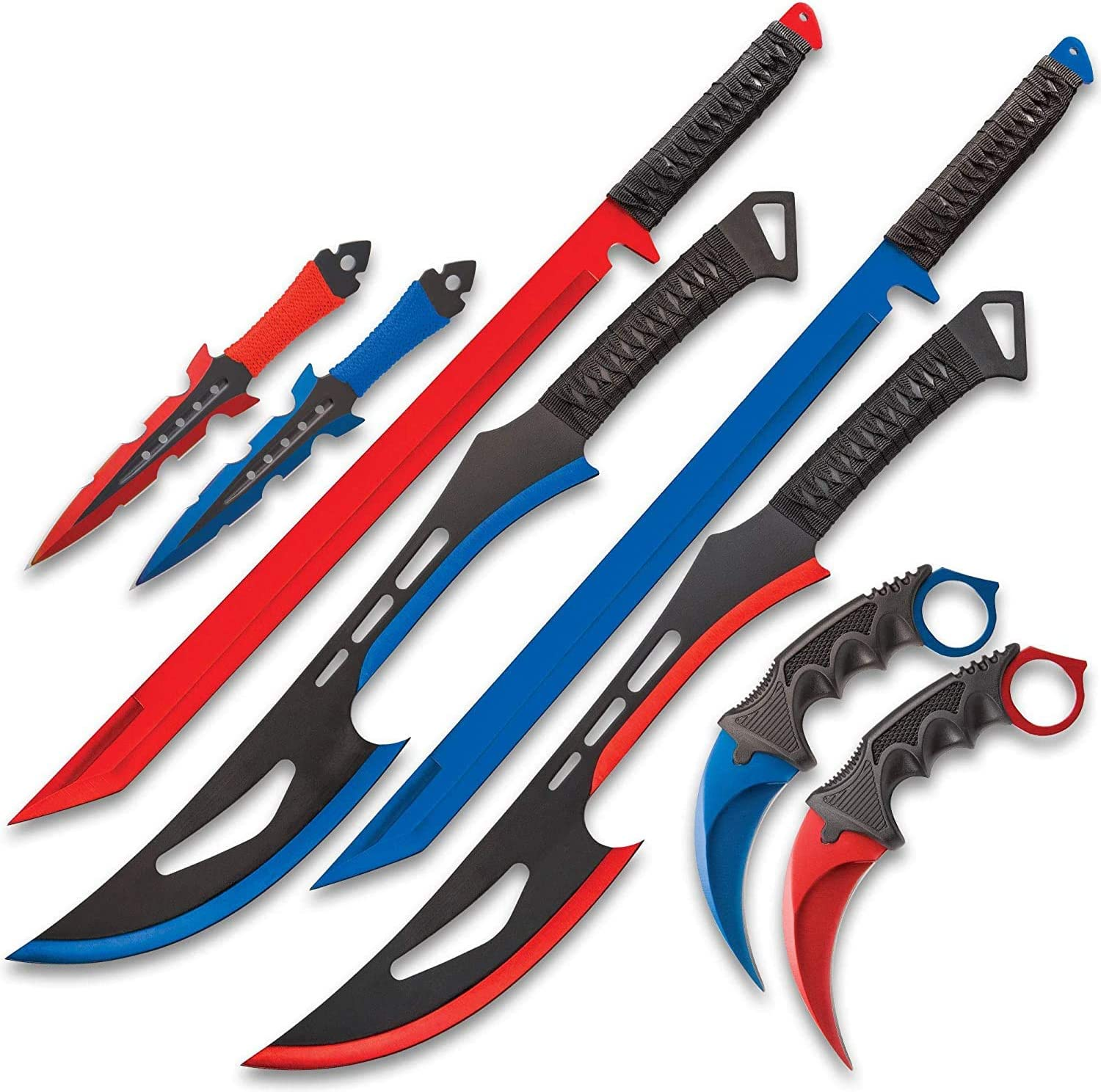 Black Legion Ranking TOP10 Fire and Ice Battle Stainless T Blades - Ranking TOP1 Steel Set
