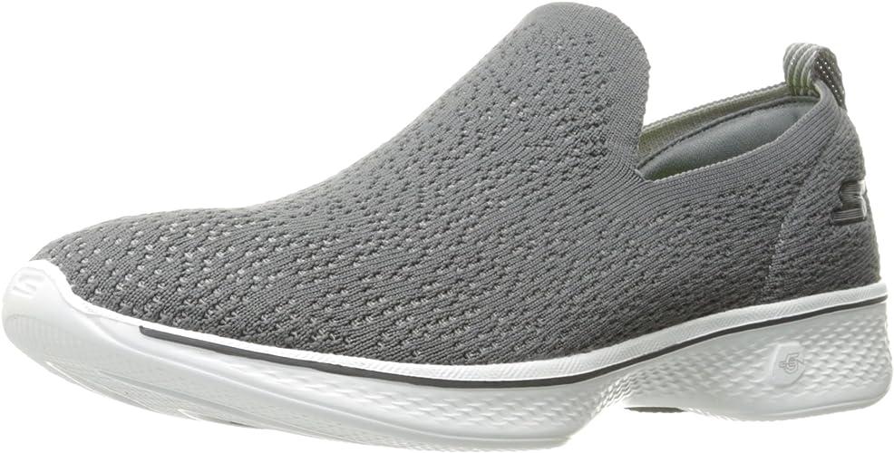 Skechers Perforhommece Wohommes Go 4-14918 en marchant chaussures,Charcoal,10.5 M US