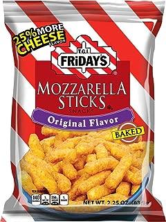 T.G.I. Friday's Mozzarella Sticks 2.25-Ounce , Original Flavor (Pack of 6)
