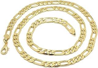 قلادة فيجارو للرجال، سلاسل كبح كوبي، رابط العنق الهيب هوب روك ، مجوهرات للرجال والأولاد
