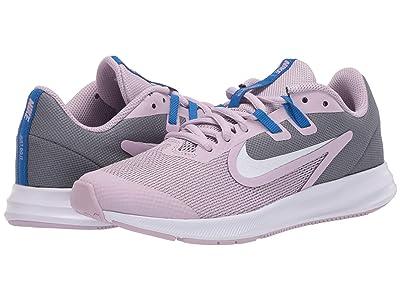 Nike Kids Downshifter 9 (Big Kid) (Iced Lilac/White/Smoke Grey/Soar) Boys Shoes