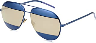 Aviator Sunglasses Split 1 QAOUE Blue 59mm