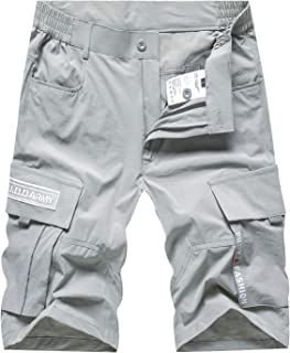 Vcansion Men's Outdoor Lightweight Hiking Shorts Quick Dry Sports Casual Shorts
