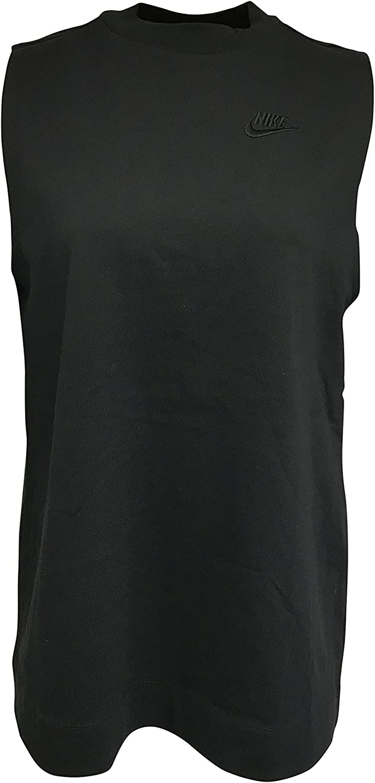 Nike Women's Sleeveless Top 100% Cotton Jersey Tunic Sleeveless Top