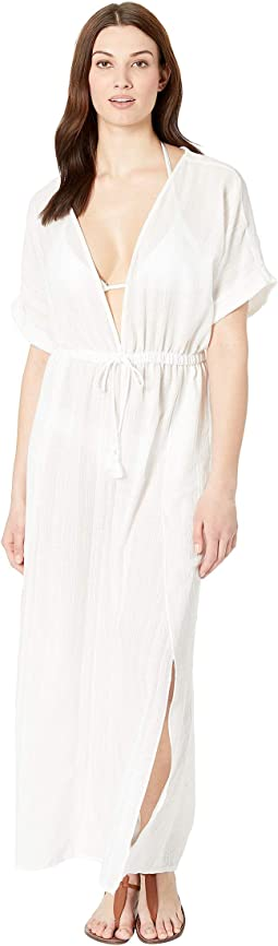 Michelle Short Sleeve Jumpsuit Cover-Up