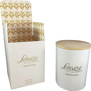 Lumiere et Parfum Premium Sandalwood Soy Candles 10.6 oz