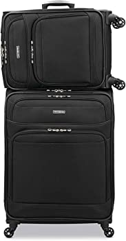 2-Piece Samsonite StackIt Plus Stackable 1680D Luggage Set