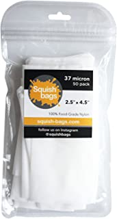 Squish Bags - 37 micron Rosin Press Screen Bags (2.5