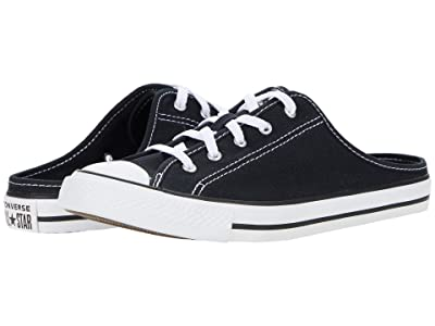 Converse Chuck Taylor All Star Dainty Mule Slip-On (Black/Black/White) Women