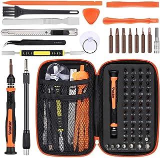 Vastar Precisionsskruvmejsel set 68 i 1 professionell elektronisk reparationssats för iPhone, iPad, MacBook, PC, smartphon...