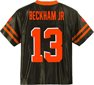 Outerstuff Odell Beckham Jr Cleveland Browns #13 Brown Youth Player Home Jersey