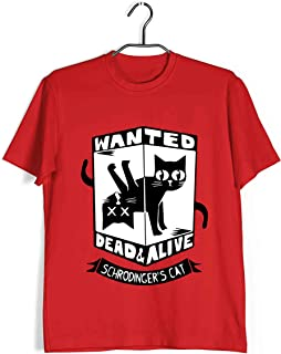 Aaramkhor Physics T-Shirt for Men | Dead or Alive Schrodingers Cat | TV Series | Regular Fit for Men Sizes S to 4XL|