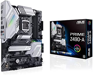 ASUS Prime Z490-A LGA 1200 (Intel® 10th Gen) ATX Motherboard (14 DrMOS Power Stages,Dual M.2, Intel® 2.5 Gb Ethernet, USB ...