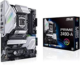 ASUS Prime Z490-A LGA 1200 (Intel 10th Gen) ATX Motherboard (14 DrMOS Power Stages,Dual M.2, Intel 2.5 Gb Ethernet, USB 3....