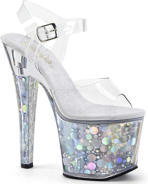 Pleaser Womens RADIANT-708BHG C S Sandals