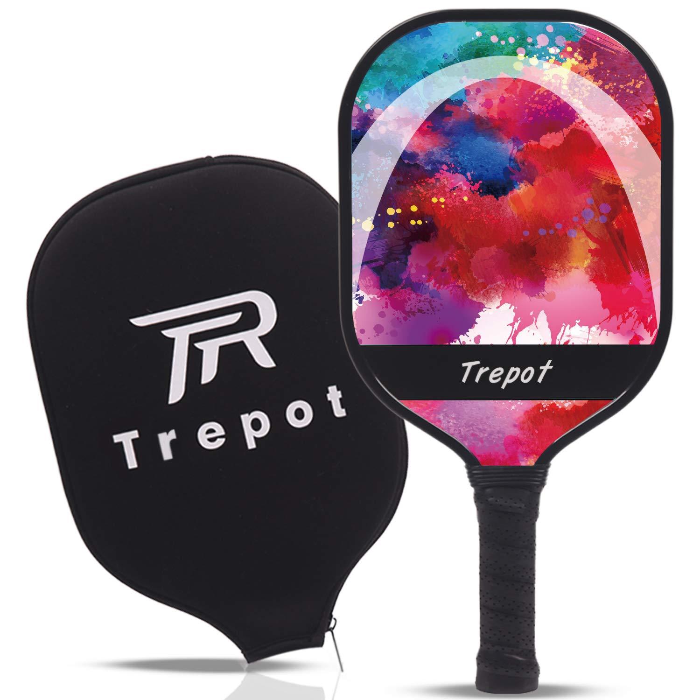 Trepot-Pickleball Paddle Graphite Pickleball Racket wi -5HMV