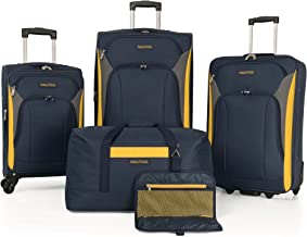Nautica Luggage Sets 5 Piece 4 Piece Lightweight Suitcase