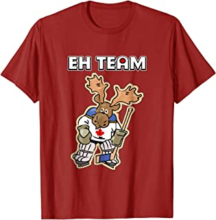 Canadian Moose Hockey Player EH Team T-Shirt