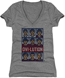 Alex Ovechkin Women's Shirt - Washington Hockey Shirt for Women - Alex Ovechkin Ovi-lution RB