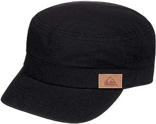 Quiksilver Erkek 2Renegade Military Cap, siyah