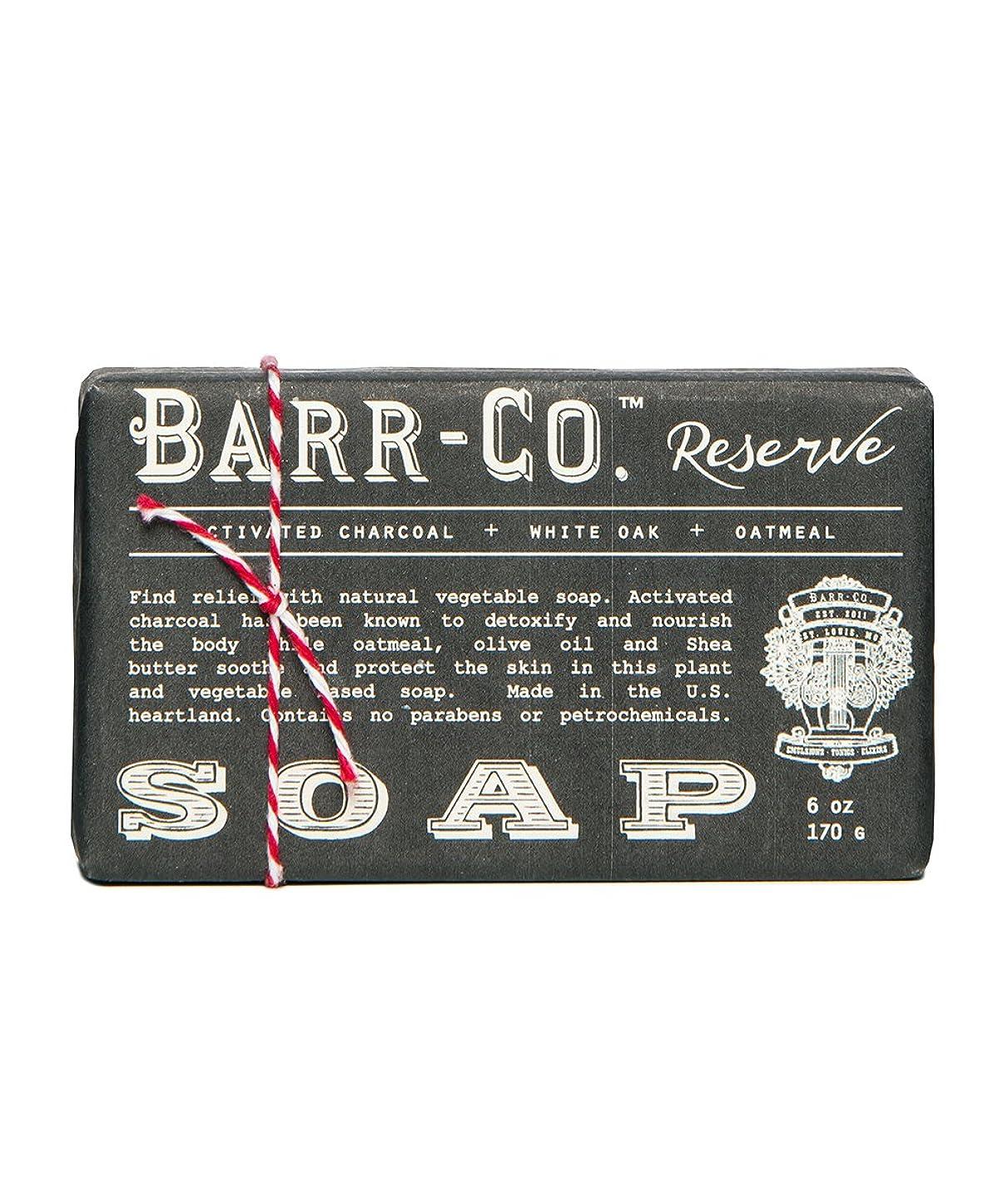 不完全な足音頑張るバーコ(BARR-CO.) バーソープ リザーブ