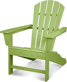 POLYWOOD HNA10-LI Palm Coast Adirondack Chair, Lime