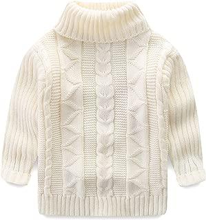 Kids Sweaters Unisex Turtleneck Lightweight