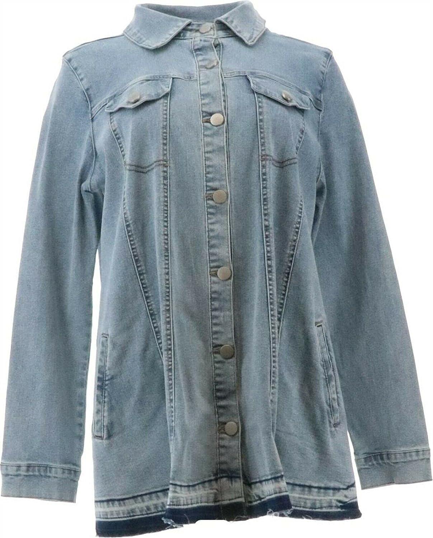LOGO by LORI GOLDSTEIN womens Basic Jacket