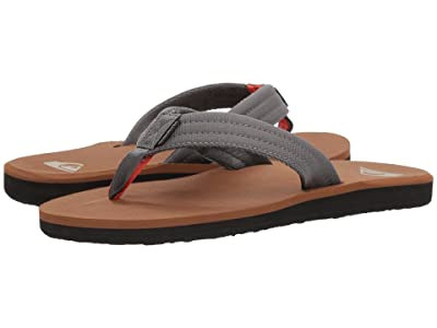 Quiksilver Carver Tropics (Grey/Black/Brown) Men