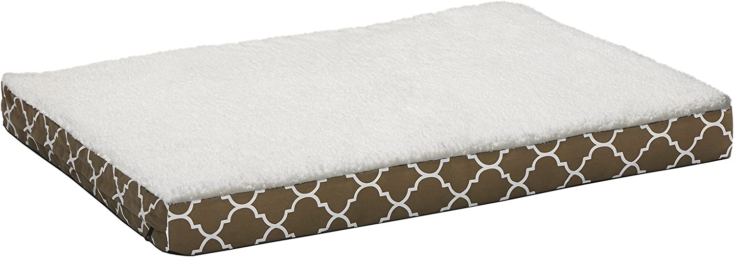 MidWest Homes for Pets Orthopedic Dog Bed w Removable Dog Bed Cover ft. Teflon Fabric Predector