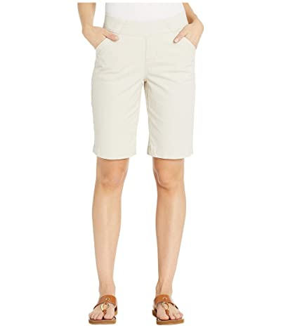 Jag Jeans Gracie Pull-On Bermuda Shorts Twill (Stone) Women