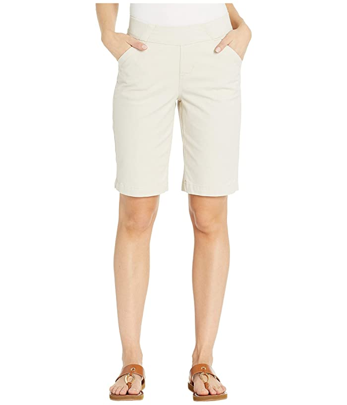 Jag Jeans Gracie Pull-On Bermuda Shorts Twill (Stone) Women's Shorts