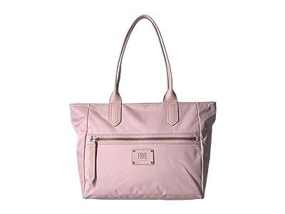 Frye Ivy Zip Tote (Lilac) Tote Handbags