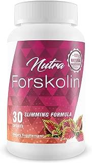 Nutra Forskolin- 100% Natural Ingredients(Best Coleus Forskohlii on the Market) - Safe Weight Loss Supplement for Women & Men