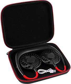 Case Compatible with Portable Hanging Neck Sports Fan - Mini USB Rechargeable Hands Free Neckband Fans.(Box Only)