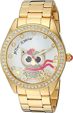 BJ00048-283 - Owl & Snowflake Motif Dial Watch