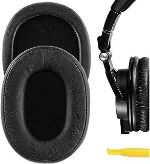 Geekria QuickFit イヤーパッド 互換性 パッド Audio Technica ATH-M50X, ATH-M50XBT, ATH-M40X, ATH-M30, ATH-M20, ATH-M10, AR5BT, AR5IS ヘッド...