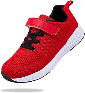 Santiro Kids Sneakers Boys Girls Breathable Lightweight Tennis Athletic Running Shoes (Little Kid/Big Kid)