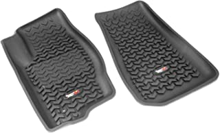 Rugged Ridge All-Terrain 12920.30 Black Front Row Floor Liner For Select Dodge Caliber, Jeep Compass and Patriot Models
