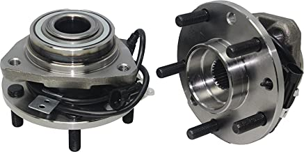 4x4 Models Pair or 2 New Front Wheel Hub and Bearing Assembly 5 Lug W/ABS fits [97-05 Blazer 4x4] [97-04 S10 4x4] [97-05 Jimmy 4x4] [97-04 Sonoma 4x4] [98-00 Hombre 4x4] [97-01 Bravada]